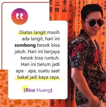 Kisah Rico Huang, Pebisnis Online Sukses setelah Puluhan ...